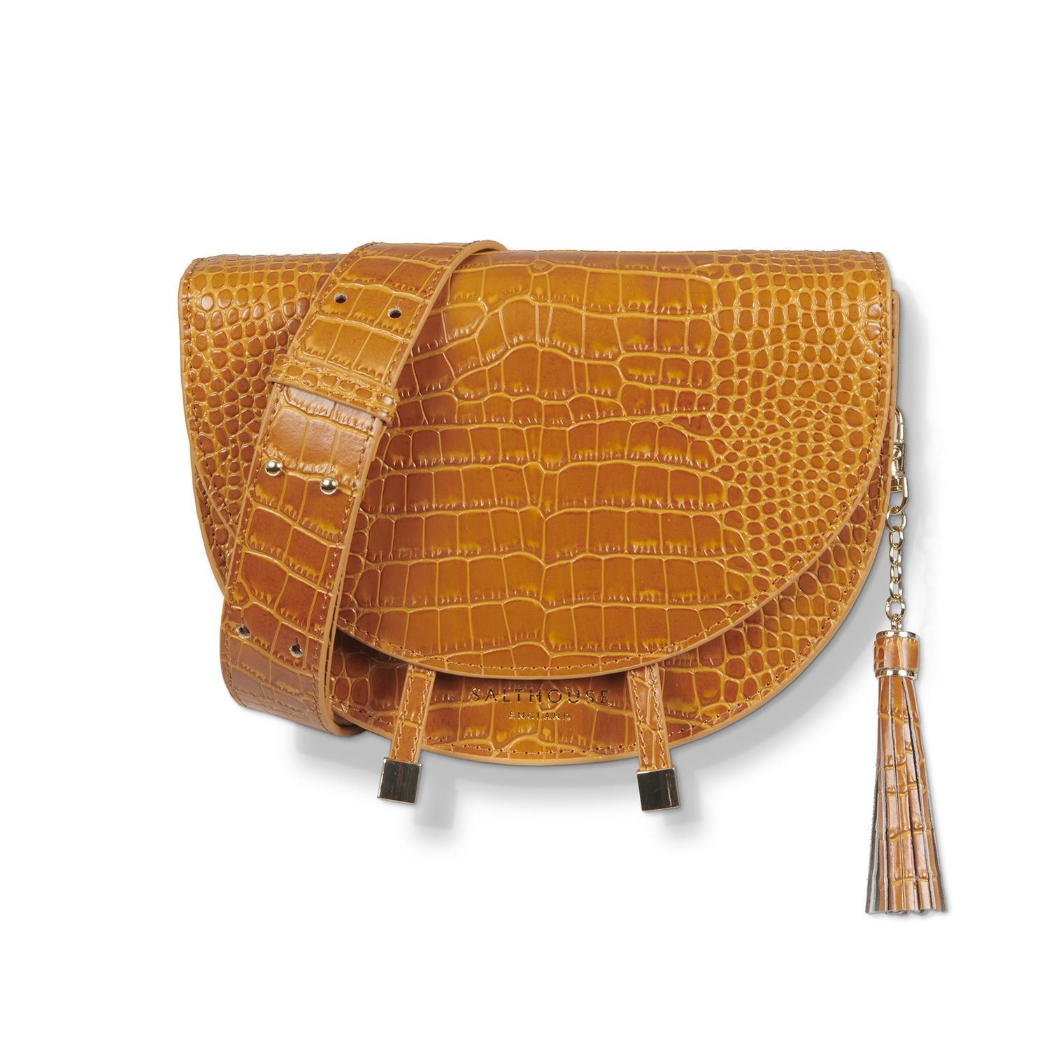 Floriana Saddle Bag Honey