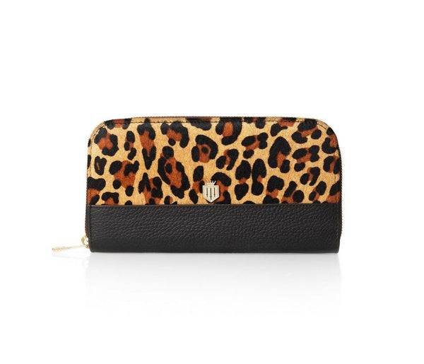 THE SALISBURY JAGUAR HAIRCALF PURSE - Fairfax & Favor