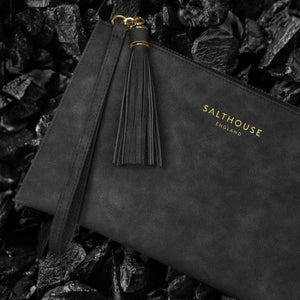 Serafina Clutch Bag in Beautiful Black