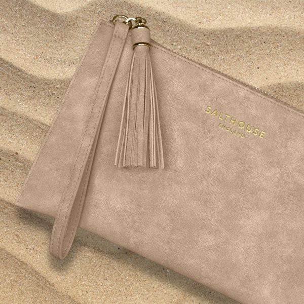 Serafina Clutch Bag in Naughty Nude