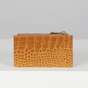 Theadora Card Holder Honey- Salthouse England