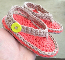 Load image into Gallery viewer, Chubby Baby Flip-Flops Pattern