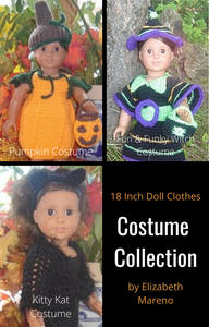 Costumes Collection - 18 Inch Doll Patterns