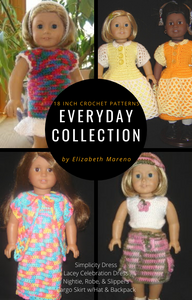 Everday Collection- 18 Inch Crochet Pattern