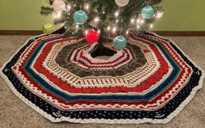 Songs of the Season Christmas Tree Skirt