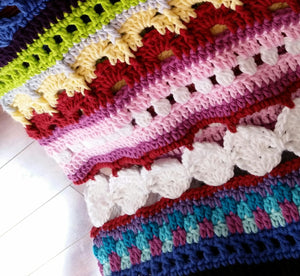 Wonderland Sampler Blanket