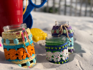Calypso Crab Cotton Jar Huggers