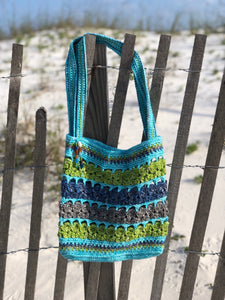 Calypso Crab Beach Bag Crochet Pattern