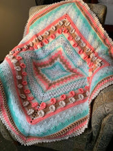 Load image into Gallery viewer, Lady Frances Crochet Baby Blanket Sampler Pattern