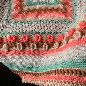 Lady Frances Crochet Baby Blanket Sampler Pattern