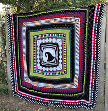 Load image into Gallery viewer, This is Halloween, Nightmare Before Christmas Inspiration Blanket Crochet Pattern