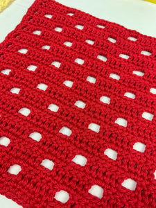 E-BOOK- 11 Dishcloth Patterns for Beginners