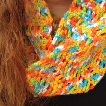 Load image into Gallery viewer, Chutes and Ladders Infinity Scarf Pattern