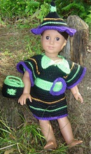 Load image into Gallery viewer, Costumes Collection - 18 Inch Doll Patterns