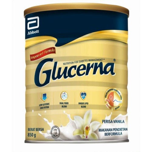 GLUCERNA TRIPLE CARE (Vanilla) 850g