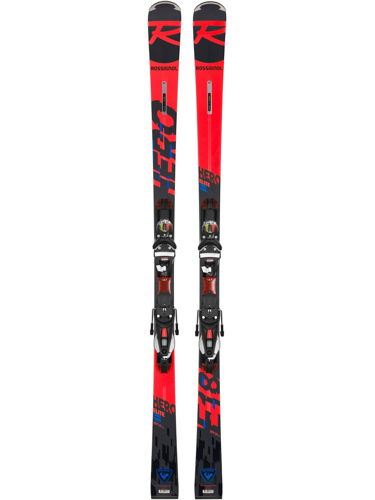 Narty ROSSIGNOL HERO ELITE LT TI K + wiązania LOOK NX 12 K.GW B80 BLACK ICON