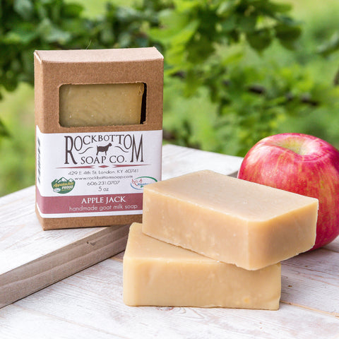 Apple Jack Goat Milk Soap