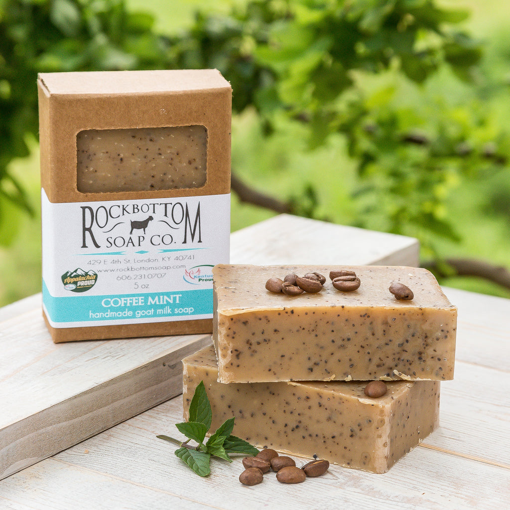 Coffee Mint Goat Milk Soap