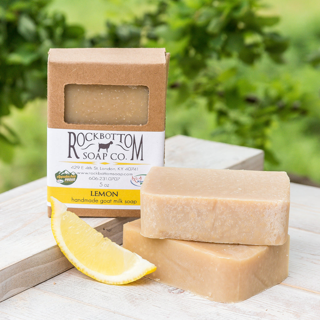 Lemon Goat Milk Soap