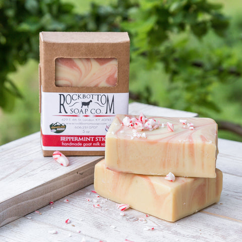 Peppermint Stick Goat Milk Soap