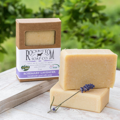 Rosemary Lavender Goat Milk Soap