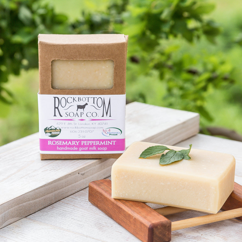 Rosemary Peppermint Goat Milk Soap