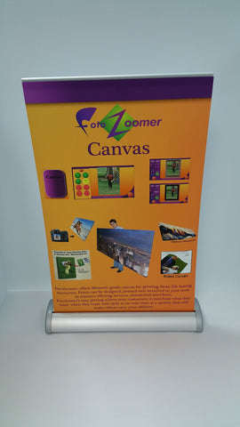 "Table Top Retractable Banner Stand - 11"" x 17"" Graphic Size"