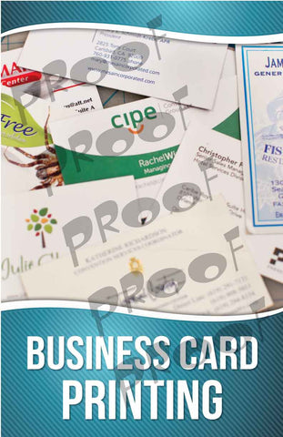 Business Card Printing Signage