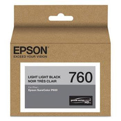 Epson SureColor P600 Genuine T760-series (760) UltraChrome HD Ink