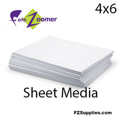 "FotoZoomer Premium LUSTRE Finish Photo Paper 4"" x 6"" - 500 Sheets"
