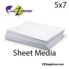 "FotoZoomer Premium GLOSS Finish Photo Paper 5"" x 7"" - 100 sheets"