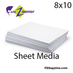 "FotoZoomer Premium GLOSS Finish Photo Paper<BR>8""x10"" - 100 sheets"