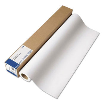 "Epson Professional Media Metallic Photo Paper Glossy, White, 36"" x 100 ft Roll"