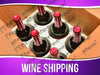 Wine Shipping Services Signage - Horizontal