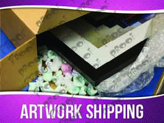 Artwork Shipping Signage - Horizontal