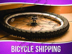 Bicycle Shipping Signage - Horizontal