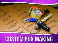 Custom Box Making Signage - Horizontal