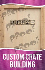 Custom Crate Making Signage