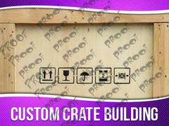 Custom Crate Making Signage - Horizontal