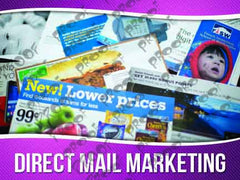 Direct Mail Marketing Signage - Horizontal