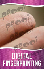 Digital Fingerprinting Signage