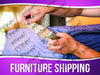 Furniture Shipping Signage - Horizontal