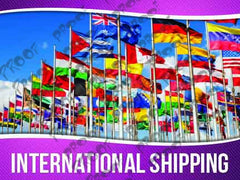 International Shipping Signage - Horizontal