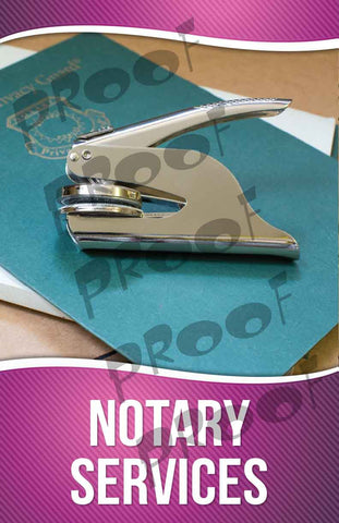Notary Service Signage