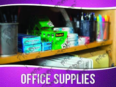 Office Supplies Signage - Horizontal