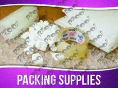 Packing Supplies Signage - Horizontal