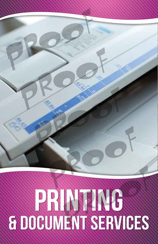 Printing Services Signage