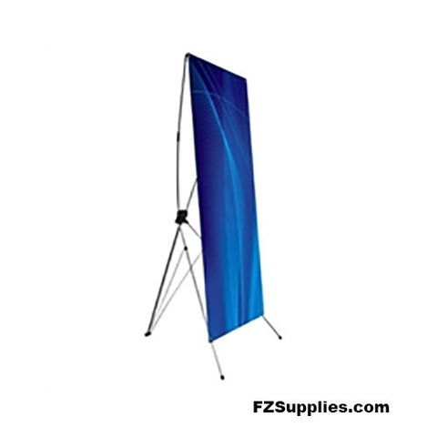 "Lightweight Banner Stand – 24""x 63"" viewable"