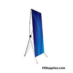 "Lightweight Banner Stand - 32"" x 72"" viewable"