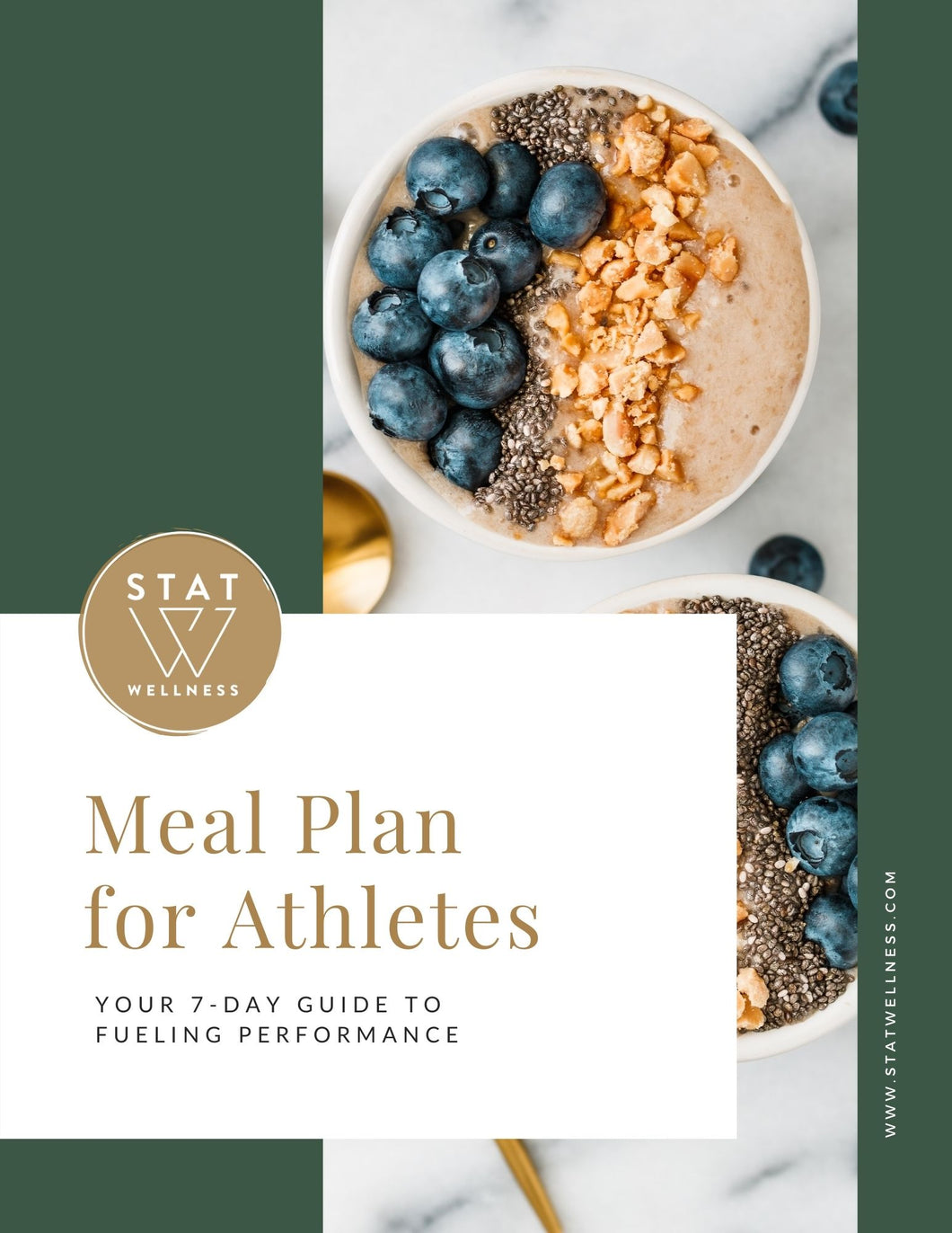 1 Week Meal Plan for Athletes